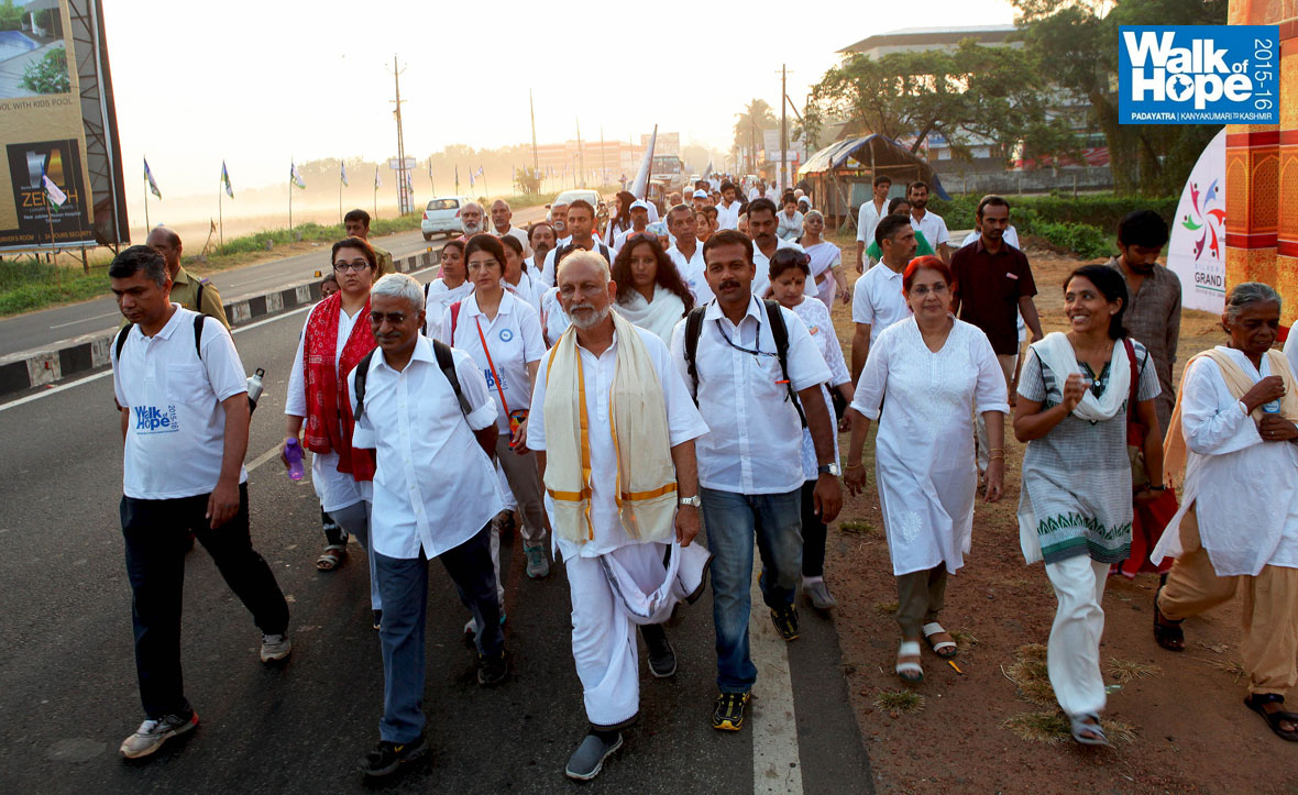 Day 36 | 16 Feb 2015 | The Walk of Hope 2015 -16