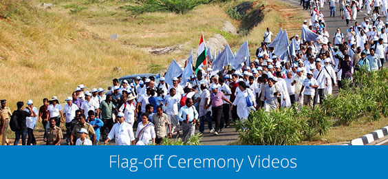 Flag-off Ceremony Videos
