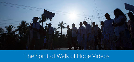 The Spirit of Walk of Hope Videos