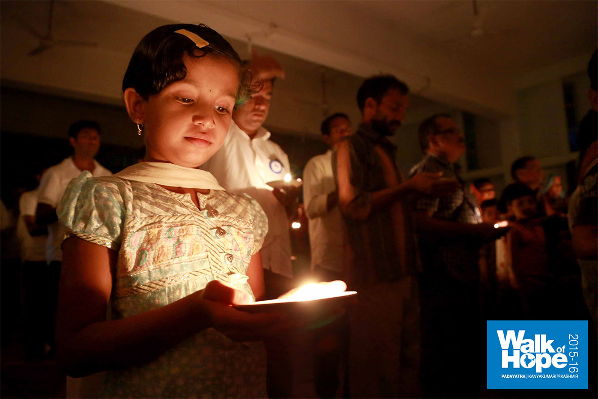 7.Radiant in the light of the Diya