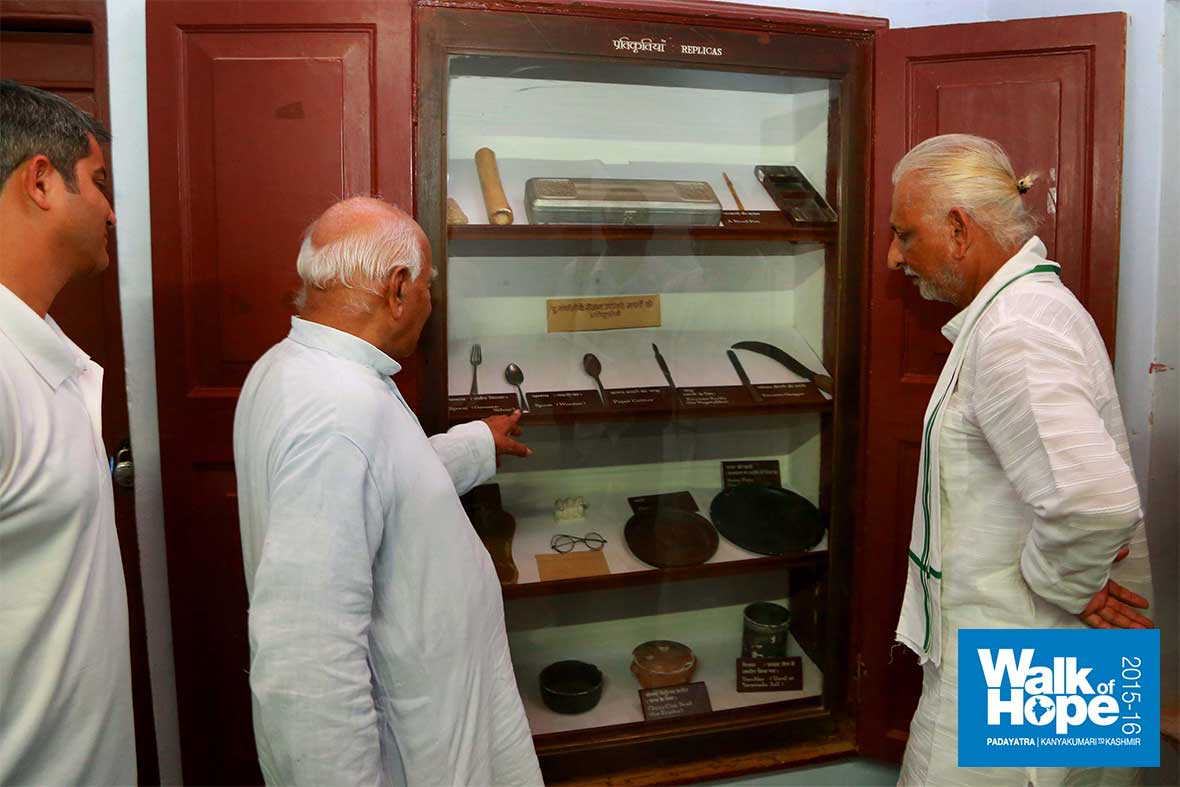 10.Sir-at-the-exhibition-of-Gandhiji-memorabilia,-Sabarmati-Ashram,-Ahmedabad,-Gujarat