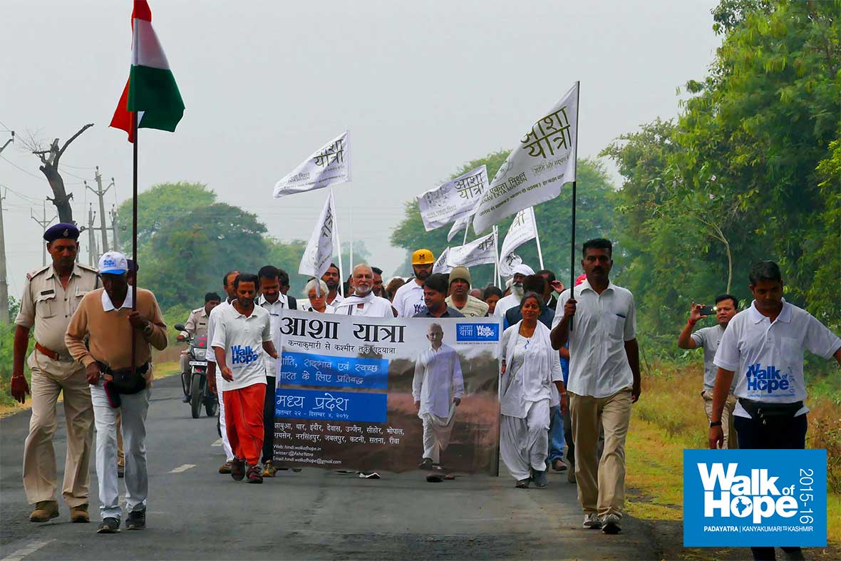 1.WOH-Day-291,-with-cool-&-nice-weather,-we-breezed-through-the-16K-walk-from-Bari-to-Belari,-Raisen,-MP