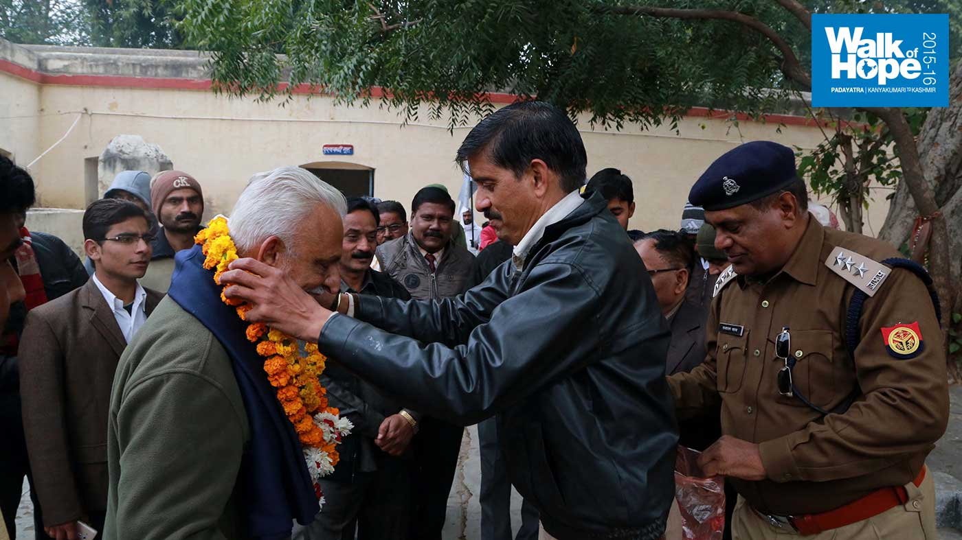 4.Reception-at-Sikandra-Police-Station,-Kanpur-Dehat,-UP