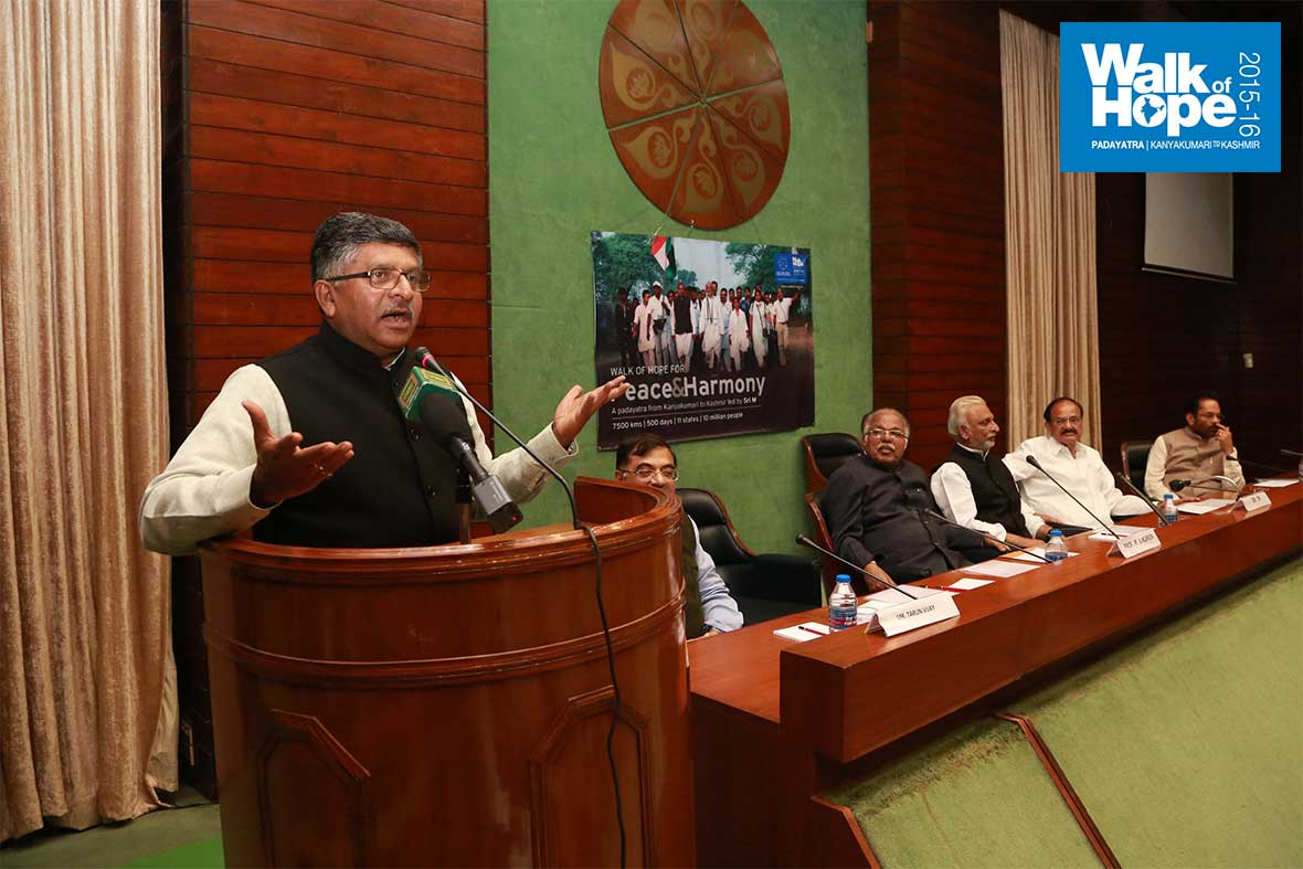 16.Union-Minister-Ravishankar-Prasad-addresses-the-gathering,-Parliament-Annexe,-New-Delhi