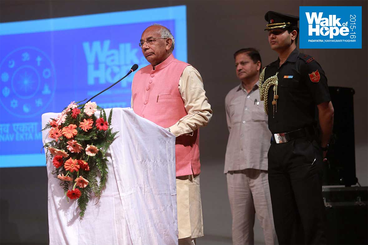 19.His-Excellency-the-Governor-addresses-the-gathering,-Moti-Ram-Arya-Auditorium,-Chandigarh